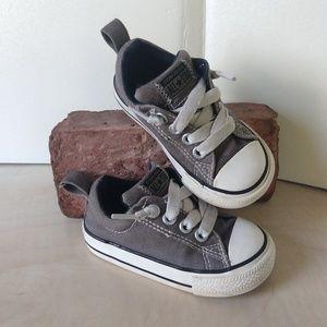 3/$20 Converse All Star Dark Gray Toddler 5